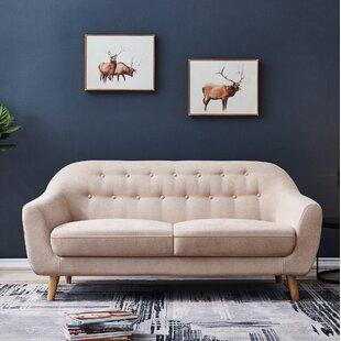Excellent Lipe Accent Loveseat Customarchery Wood Chair Design Ideas Customarcherynet