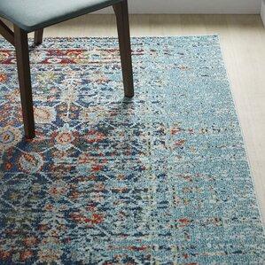 artemis blue area rug - Colorful Area Rugs