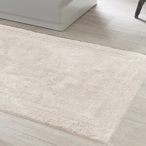 Machine Wash Bath Rugs Mats Youll Love Wayfair - Black and white tweed bath rug for bathroom decorating ideas