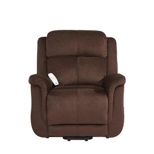 Harrison Power Lift Assist Recliner by Serta Futons
