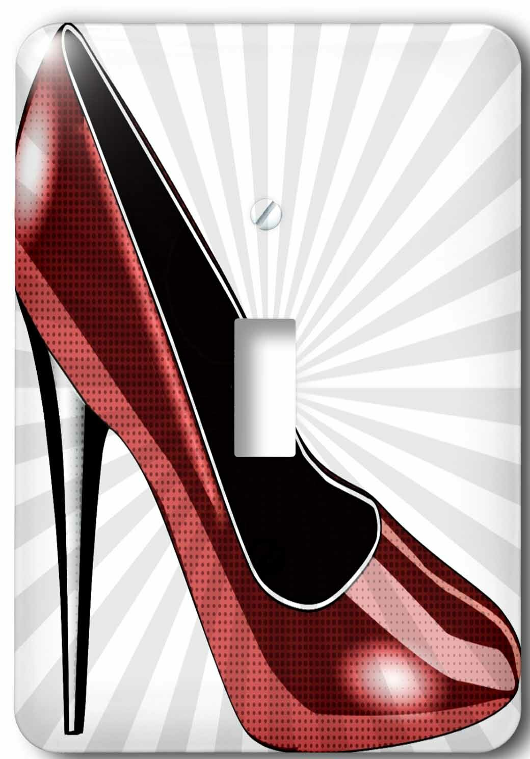 3drose High Heel Fashion Shoes 1 Gang Toggle Light Switch Wall Plate Wayfair