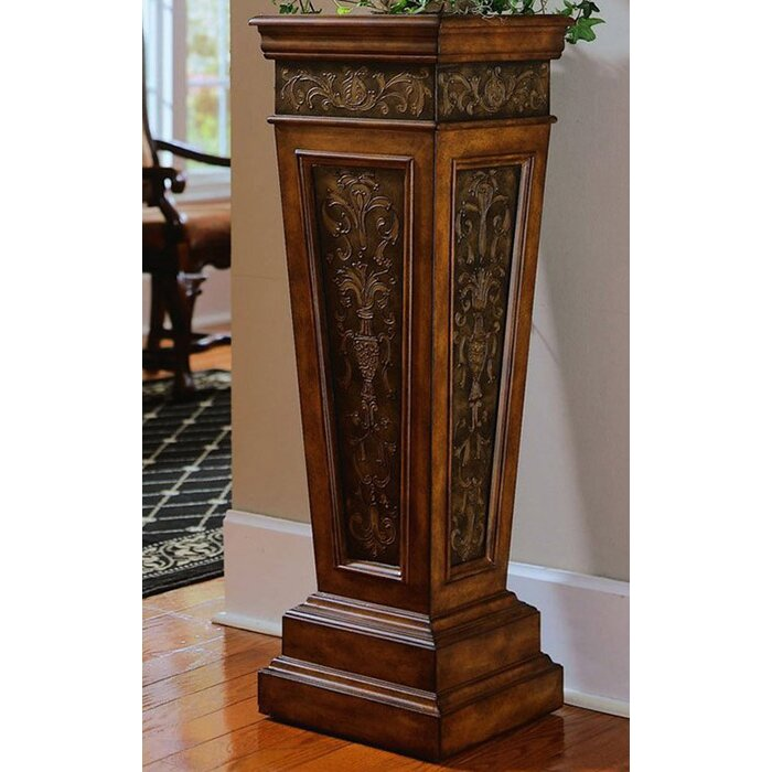 here honey to enlarge onyx click accents marble pedestal plant stand