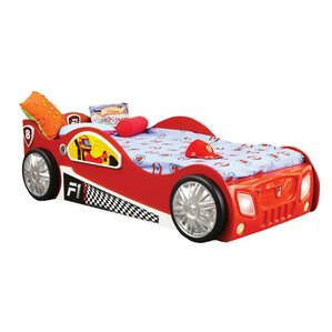 Monza Toddler Car Bed by Plastiko