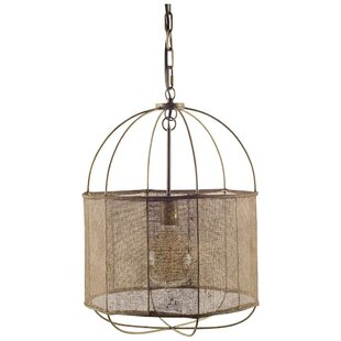 Gracie Oaks Boltongate 1-Light Lantern Pendant