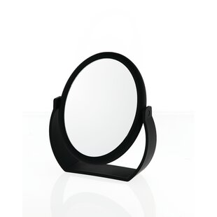 Danielle Creations Midnight Matte Oval Vanity Mirror