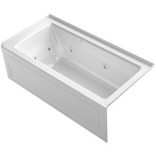 Archer Alcove Whirlpool and Bubblemassage? Air Bath with Right-Hand Drain