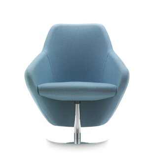 Taxido Swivel Lounge Chair By Segis U.S.A