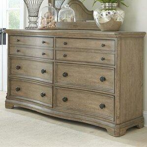Corinne 6 Drawer Standard Dresser