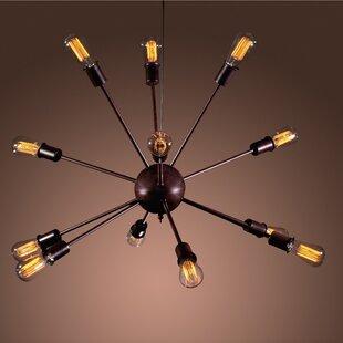 Candice 12-Light Sputnik Chandelier