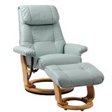 Beaucet Manual Swivel Recliner with Ottoman by Latitude Run®