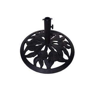 Rosey Cast Iron Free Standing Umbrella Base by California Outdoor Designs Reviews