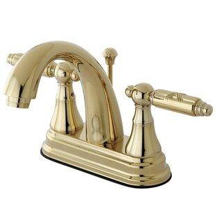 Kingston Brass Georgian Centerset Bathroom F..