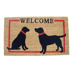 Camelon Dogs Welcome Doormat