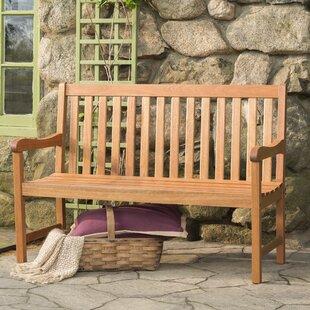 Beachcrest Home Elsmere Wood Garden Bench