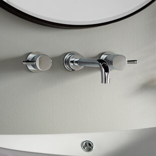 Serin Wall mounted Bathroom Faucet with Drain Assembly