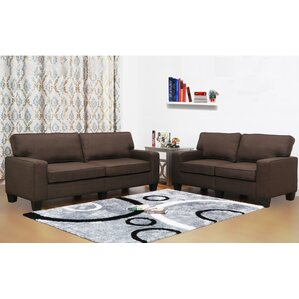 Camille 2 Piece Living Room Set by PDAE Inc.