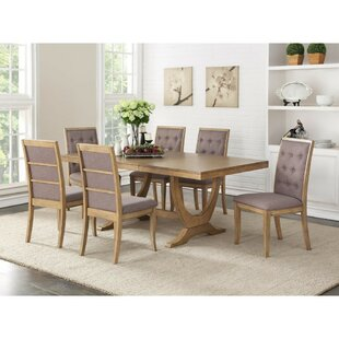 Desbois Birch Wood Dining Table