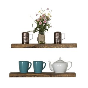 Modern Shelves modern display + floating shelves | allmodern