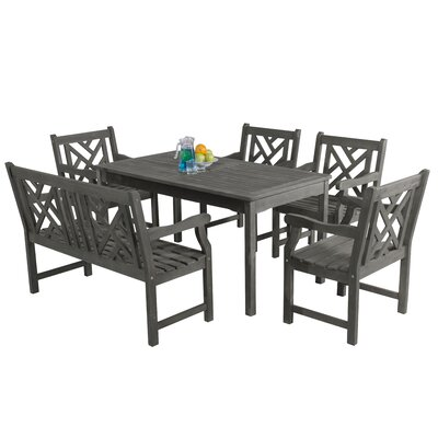 Monterry 6 Piece Dining Set