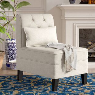 Coupon Carrie Slipper Chair by Winston Porter