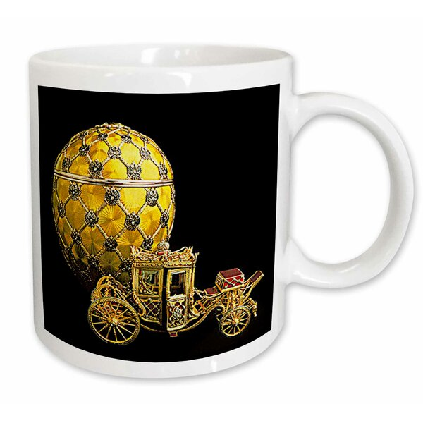 East Urban Home Picturing Faberge Egg Coronation Coffee Mug Wayfair