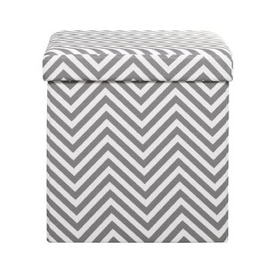 Utecht Upholstered Storage Ottoman by Varick Gallery