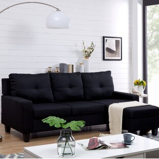 Hodder Reversible Sectional with Ottoman