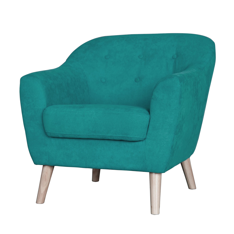 George Oliver Zendejas Mid Century Modern Barrel Chair | Wayfair