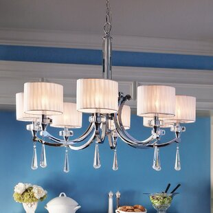 Willa Arlo Interiors Austine 8-Light Shaded Chandelier