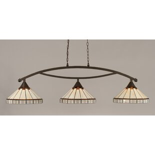 Essonnes 3-Light Billiard Light by Loon Peak