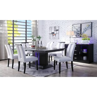 House of Hampton Buford 7 Piece Dining Set