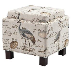avery upholstered storage ottoman - Upholstered Ottoman