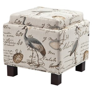 Little River Ottoman by Beachcrest Home