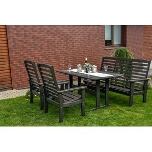 Gatlin 5 Seater Dining Set By Alpen Home