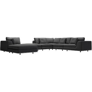 Perry Sectional with Ottoman Modloft