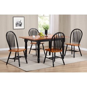 Kirsten 5 Piece Dining Set by August Grove