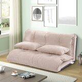 Aðalsteinn Twin or Smaller 43.3 Cushion Back Convertible Sofa by Latitude Run
