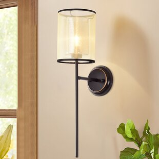 Mercer41 Ingleside 1-Light Armed Sconce
