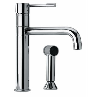 Jewel Faucets J25 Kitchen Series Single Handle Kitchen Faucet with Side Spray