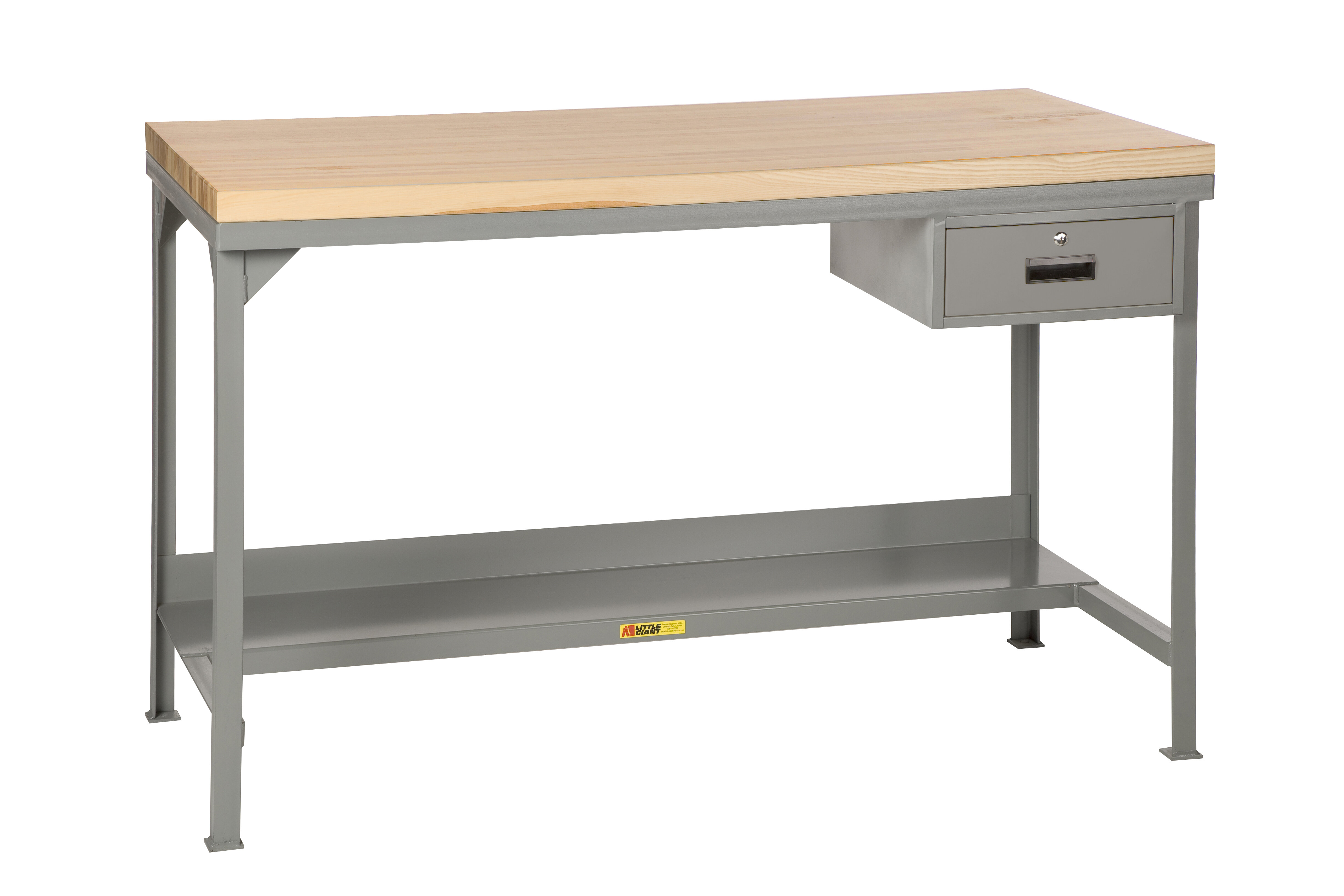 Little Giant Usa Welded Butcher Block Top Workbench