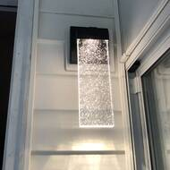 Wade Logan Camborne 1 Bulb Integrated Led Outdoor Armed Sconce Reviews Wayfair Ca