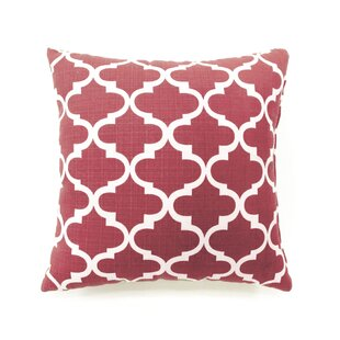 Ellsworth Quatrefoil Throw Pillow (Set of 2)
