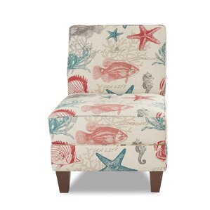 Gaugain Slipper Chair by Rosecliff Heights