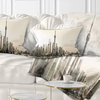 Millwood Pines Dacia Canada Throw Pillow Cover Wayfair Ca