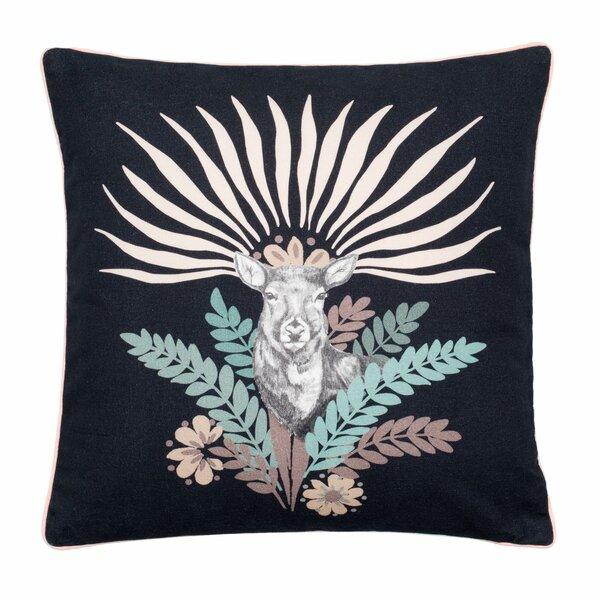 Madura Fawn Cotton Throw Pillow Cover Perigold