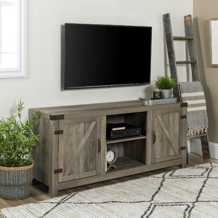 Adalberto TV Stand for TVs up to 65 with Optional Fireplace By Trent Austin Design