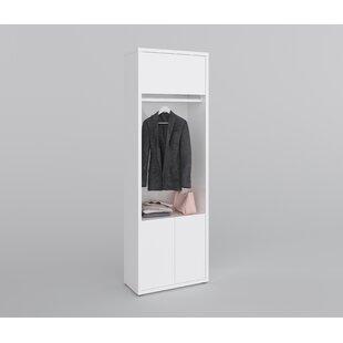 Vallie 2 Door Wardrobe By Wade Logan
