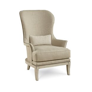 One Allium Way Palmetto Expose Wing back Chair