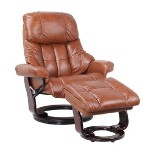 Navarette Manual Swivel Recliner with Ottoman by Red Barrel Studio