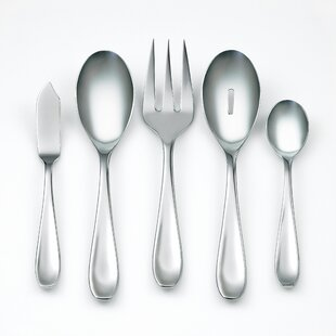 Ruby Mirror 45-Piece Flatware Set, Service for 8